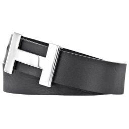 Silbergift Damengürtel Breite: 3 cm Farbe: schwarz...