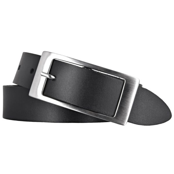 Bernd Götz Gürtel Damen Leder 30 mm schwarz Rindleder Damengürtel