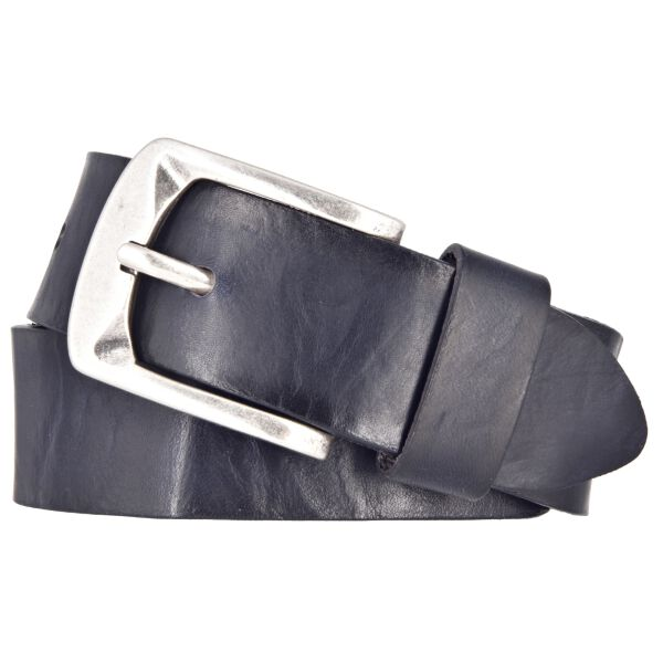 BERND GÖTZ Ledergürtel Herrengürtel blauschwarz 40 mm Leder