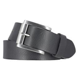 Mytem Gear Gürtel Ledergürtel 40 mm schwarz mit...