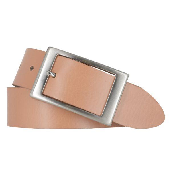 BERND GÖTZ Damengürtel Ledergürtel 35 mm softorange Nappaleder