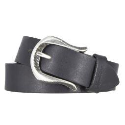 MUSTANG Damengürtel Ledergürtel schwarz 30 mm...
