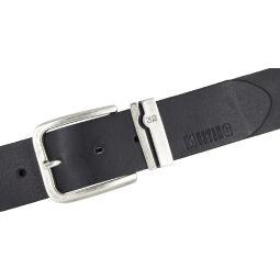 MUSTANG Herrengürtel Ledergürtel Vollleder schwarz 40 mm