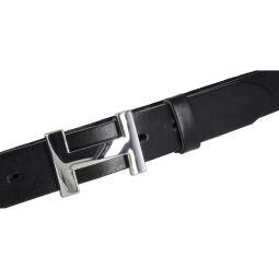 Vanzetti Damengürtel schwarz Vollleder 30 mm Gürtel
