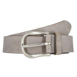 Vanzetti Damengürtel grau 35 mm Vollleder Gürtel