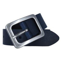 Vanzetti Damengürtel dunkelblau 35 mm Ledergürtel
