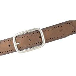 Mustang Damengürtel 35 mm Pull-Up-Leder mit Vintagecharakter baileys