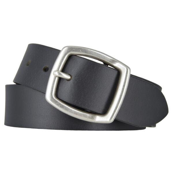 Mytem Gear Ledergürtel Herrengürtel schwarz 40 mm Vollleder