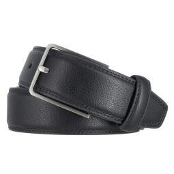 LERROS Herrengürtel 35 mm schwarz mit elastischem...