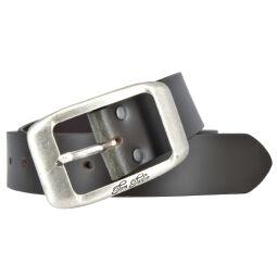 Tom Tailor Damen Leder Gürtel Belt Ledergürtel Rindleder used Dunkelbraun 40mm 90 cm