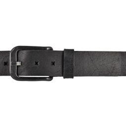 LLOYD Mens Belts Gürtel Ledergürtel Herrengürtel Vintage Optik 40mm Schwarz