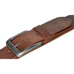 MYTEM GEAR Gürtel Ledergürtel Herrengürtel Büffelleder  40mm Cognac