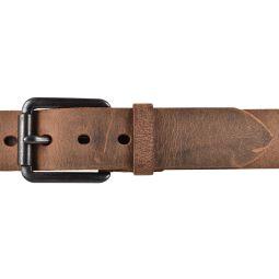 SDV Leder Gürtel Belt Ledergürtel Vollrindleder gewachst kürzbar Cognac 40mm