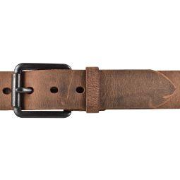 SDV Leder Gürtel Belt Ledergürtel Vollrindleder gewachst kürzbar Cognac 40mm 90 cm