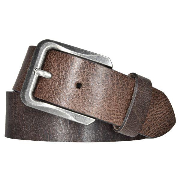 MYTEM-GEAR Gürtel Ledergürtel Herrengürtel Büffelleder Braun 40mm