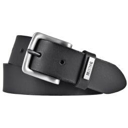 Mustang Herren Ledergürtel 35 mm schwarz