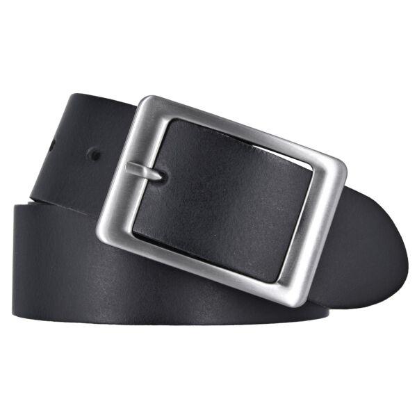 Vanzetti Damen Leder Gürtel Belt Ledergürtel Damengürtel schwarz 40 mm 100 cm