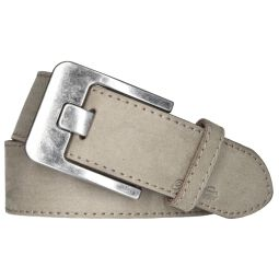 Tom Tailor Damen Leder Gürtel Belt Ledergürtel Velours -...