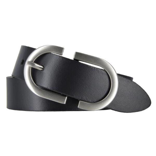 Bernd Götz Damen Leder Gürtel 30 mm schwarz Rindleder kürzbar Damengürtel