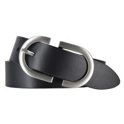 Bernd Götz Damen Leder Gürtel 30 mm schwarz Rindleder kürzbar Damengürtel 80