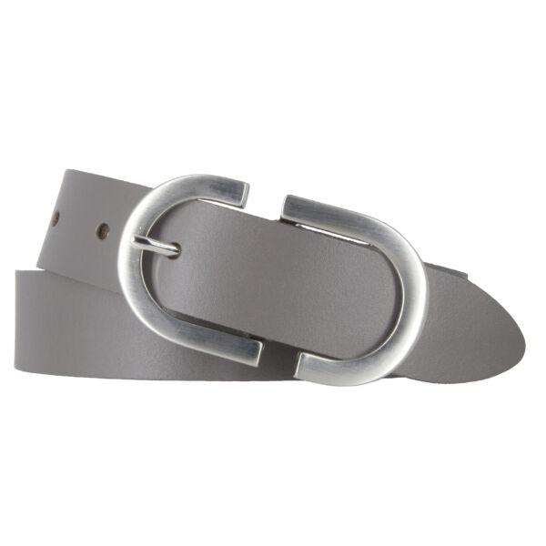 Bernd Götz Damen Leder Gürtel 30 mm dunkeltaupe Rindleder kürzbar Damengürtel