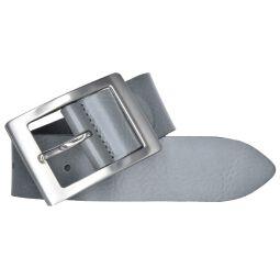 Bernd Götz Damen Leder Gürtel 40 mm grau Nappaleder kürzbar Damengürtel 105