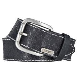 Mustang Herren Vintage Leder Gürtel Ledergürtel...