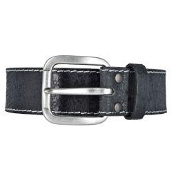 Mustang Herren Vintage Leder Gürtel Ledergürtel Herrengürtel 40 mm schwarz 85