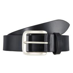 Mustang Herren Leder Gürtel Ledergürtel Herrengürtel 40 mm schwarz kürzbar Vintage 90
