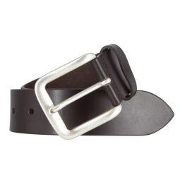 Mustang Herren Leder Gürtel Ledergürtel Herrengürtel 40 mm dunkelbraun kürzbar Vintage 110