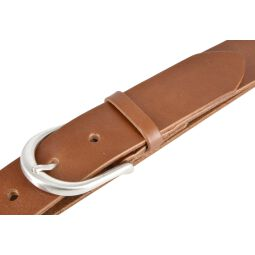Vanzetti Damen Leder Gürtel Damengürtel Vollrindleder cognac 35 mm 85