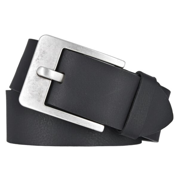 Vanzetti Herren Leder Gürtel Belt Ledergürtel Vollrindleder schwarz 45 mm kürzbar Herrengürtel 90