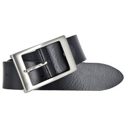 Bernd Götz Damen Leder Gürtel 35 mm schwarz Nappaleder kürzbar Damengürtel 80
