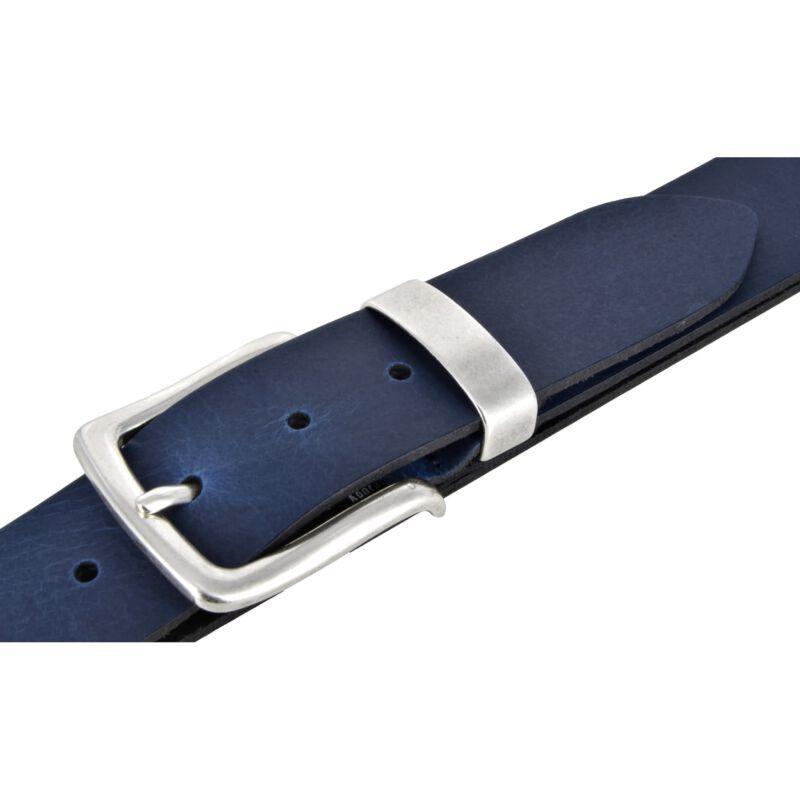 BERND GÖTZ Jeansgürtel 4 cm breit Pull-Up-Rindleder Herrengürtel Damengürtel