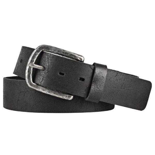 LLOYD Mens Belts Gürtel Ledergürtel Herrengürtel Jeansgürtel Schwarz 40mm