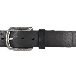 LLOYD Mens Belts Gürtel Ledergürtel Herrengürtel Jeansgürtel Schwarz 40mm 85