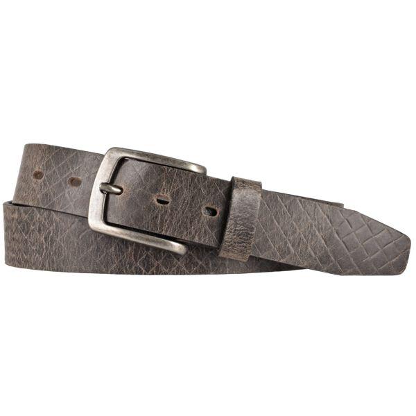 LLOYD Mens Belts Gürtel Ledergürtel Herrengürtel Jeansgürtel Grau Büffelleder 35mm