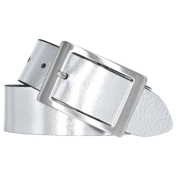 Bernd Götz Damen Leder Gürtel 40 mm silber Nappaleder kürzbar Damengürtel