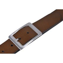 Vanzetti Damen Leder Gürtel Belt Ledergürtel Damengürtel baileys 40 mm